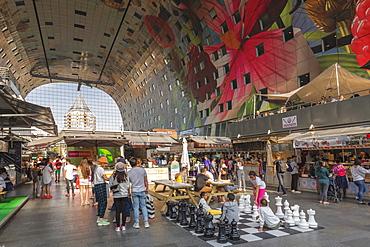 Markthal, New Market Hall, Rotterdam, South Holland, Netherlands, Europe