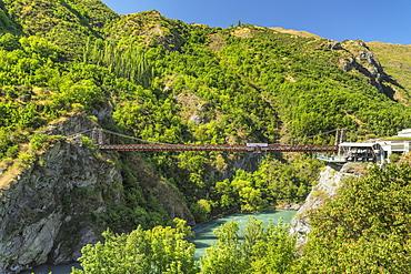 Kawarau Bridge, Kawarau River Gorge, Queenstown, Otago, South Island, New Zealand, Pacific