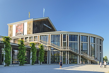 Festival Hall, Fussen, Allgau, Schwaben, Bavaria, Germany, Europe