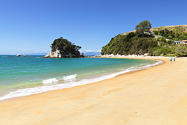 Little Kaiteriteri Beach, little, Kaiteriteri, Tasman Bay, Abel Tasman National Park, Tasman, South Island, New Zealand, Pacific