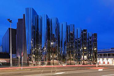Len Lye Centre, Govett-Brewster-Art Gallery, New Plymouth, Taranaki, North Island, New Zealand, Pacific