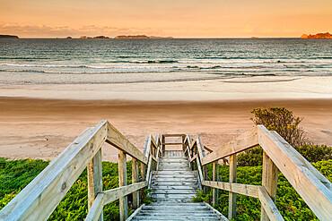 Opito Beach, near Whitianga Village, Coromandel Peninsula, Waikato, North Island, New Zealand, Pacific