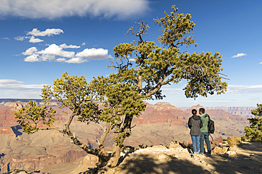 View from Grandview Point, South Rim, Grand Canyon National Park, Arizona, USA