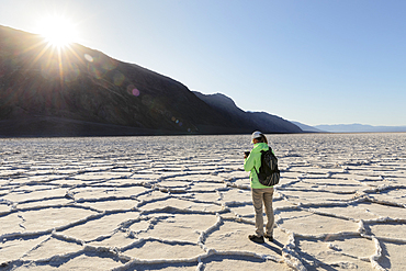 Badwater Basin, Death Valley National Park, California, USA