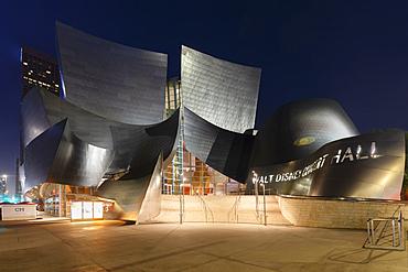 Walt Disney Concert Hall, Architect Frank Gehry, Los Angeles, California, USA