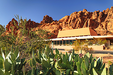 Visitor center, Valley of Fire State Park, Nevada, USA