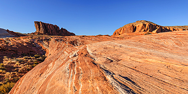 White Domes, Valley of Fire State Park, Nevada, USA