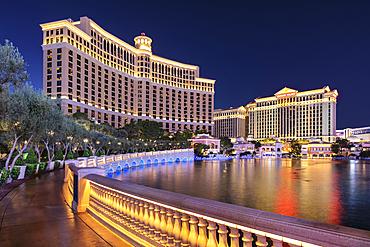 Hotel Bellagio, Las Vegas Strip, Las Vegas, Nevada, USA