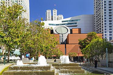 Museum of Modern Art, architect Mario Botta, San Francisco, California, USA