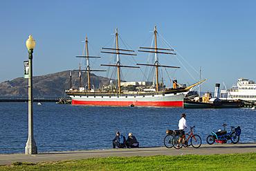 Museum vessel Balclutha, San Francisco Maritime National Historical Park, California, USA