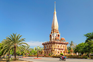 Wat Chalong temple, Phuket, Thailand, Southeast Asia, Asia