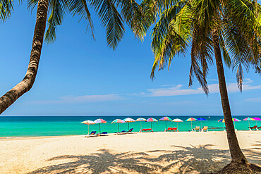 Surin Beach, Phuket, Andaman Sea, Thailand, Southeast Asia, Asia