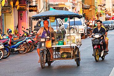 Street scene, Phuket Town, Phuket, Thailand, Southeast Asia, Asia