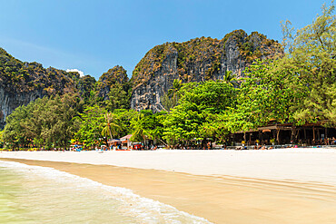 West Rai Leh Beach, Railay Peninsula, Krabi Province, Thailand, Southeast Asia, Asia