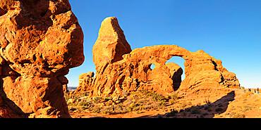 Turret Arch, Arches Nationalpark, Utah, USA