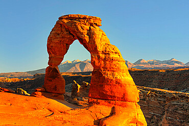 Delicate Arch, Arches Nationa Park, Utah, United States of America, North America