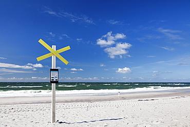 Beach of Kampen, Sylt, North Frisian islands, Nordfriesland, Schleswig Holstein, Germany, Europe