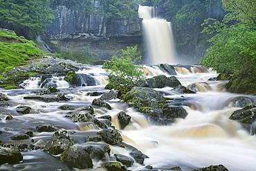 Thornton Force, Ingleton Waterfalls Walk, Yorkshire Dales National Park, North Yorkshire, England, United Kingdom, Europe