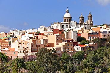 San Sebastian church, Aguimes, Gran Canaria, Canary Islands, Spain, Europe