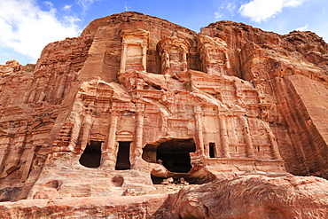 Corinthian Tomb, Royal Tombs, Petra, UNESCO World Heritage Site, Jordan, Middle East