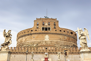 Castel Sant'Angelo (Hadrian's Mausoleum), Vatican area, Historic Centre, Rome, UNESCO World Heritage Site, Lazio, Italy, Europe