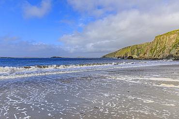 Maywick Beach, South Mainland, Shetland Isles, Scotland, United Kingdom, Europe