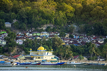 The main town on the former British colony of Rhun, Banda Islands, Maluku, Spice Islands, Indonesia, Southeast Asia, Asia