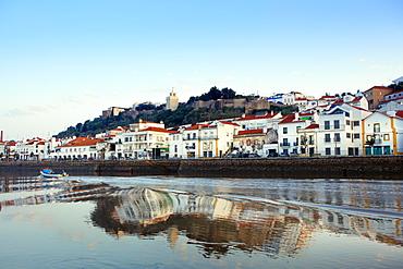 Alcacer do Sal and the Sado River, Alentejo, Portugal, Europe
