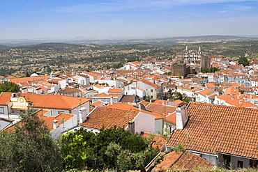 View of Portalegre, capital of the northern Alentejo, Portugal, Europe