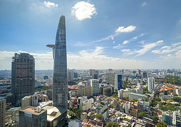 View of the city skyline, Ho Chi Minh City, Vietnam, Indochina,