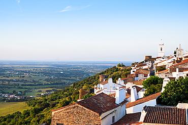 Monsaraz village and castle, Alentejo, Portugal, Europe