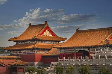 Forbidden City temple buildings, Beijing, China