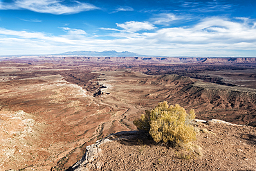 Scenic view of canyonlands in Moab, Utah, United States
