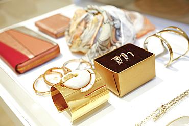 Display of luxury jewelry
