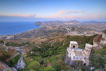 Torretta Pepoli, Erice, province of Trapani, Sicily, Italy, Mediterranean, Europe