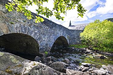 Derrycunnihy Church, Killarney National Park, County Kerry, Munster, Republic of Ireland, Europe