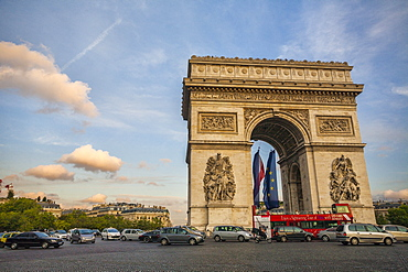 Arc de Triomphe, Paris, France, Europe