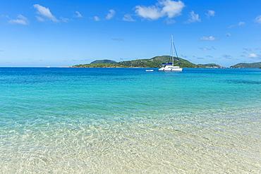 Long Bay Beach, Beef Island, Tortola, British Virgin Islands, West Indies, Caribbean, Central America