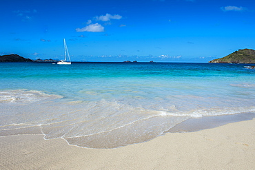 Flamand Beach, St. Barth (Saint Barthelemy), Lesser Antilles, West Indies, Caribbean, Central America