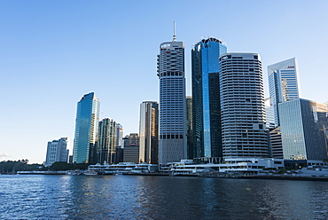 The Central business district of Brisbane, Queensland, Australia, Pacific
