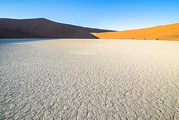 Deadvlei, an old dry lake in the Namib desert, Namibia, Africa