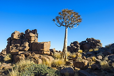Unusual rock formations, Giants Playground, Keetmanshoop, Namibia, Africa