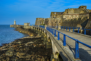 Cornet Castle, Saint Peter Port, Guernsey, Channel Islands, United Kingdom, Europe