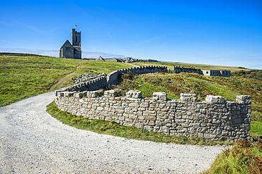 St. Helena's Church, Island of Lundy, Bristol Channel, Devon, England, United Kingdom, Europe