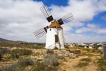 Windmill in Fuerteventura, Canary Islands, Spain, Atlantic, Europe