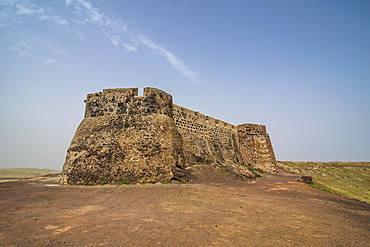 Castle Santa Barbara, Teguise, Lanzarote, Canary Islands, Spain, Atlantic, Europe