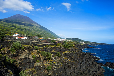 Ponta do Pico, highest mountain of Portugal, Island of Pico, Azores, Portugal, Atlantic, Europe