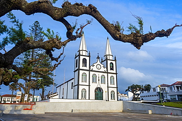 Church of Santa Maria, Island of Pico, Azores, Portugal, Atlantic, Europe