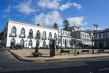 The old town, Angra do Heroismo, UNESCO World Heritage Site, Island of Terceira, Azores, Portugal, Atlantic, Europe