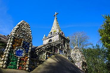 Wonderful ornamented Little Chapel, Guernsey, Channel Islands, United Kingdom, Europe